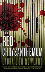 Cover: Red Chrysanthemum by Laura Joh Rowland